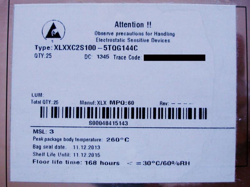 SJ Xilinx label (klikk a nagyobb képhez!