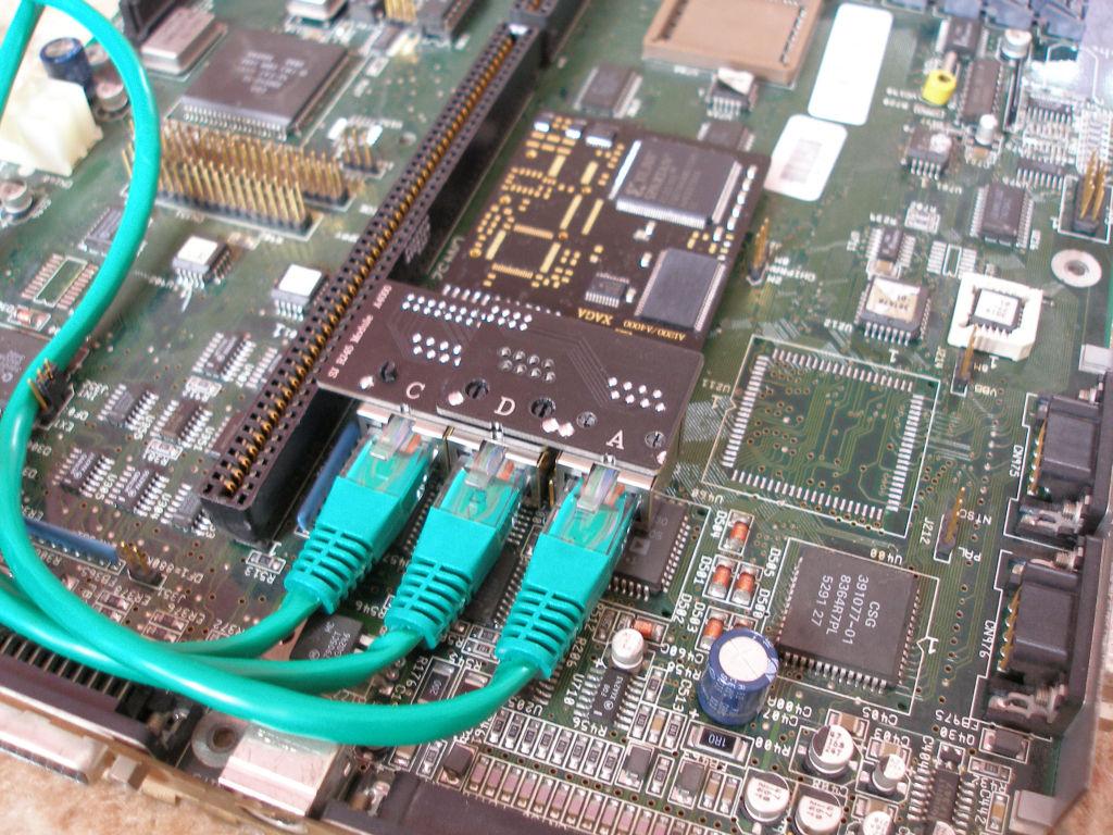 A4000 SJ XAGA RJ45 Module